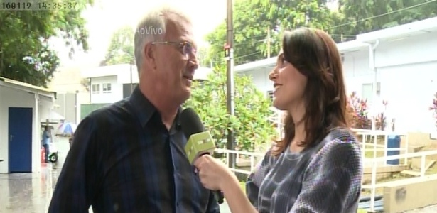 """Pedro Bial conversa com Monica Iozzi no """"Vídeo Show"""" - Reprodução/TV Globo"""