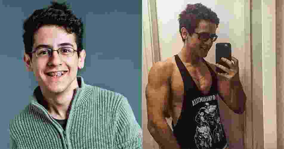 """David Lucas, que começou a carreira nas novelas em """"Alma Gêmea"""" (2005), mostra o corpo sarado em sua conta do Instagram. """"Gostaria de agradecer aos meus patrocinadores inexistentes"""", brincou na legenda da foto. O ator, que fez """"Caras & Bocas"""", """"Malhação"""", atualmente está com 21 anos e pode ser visto em """"Êta Mundo Bom"""" - Divulgação/Reprodução/Instagram"""