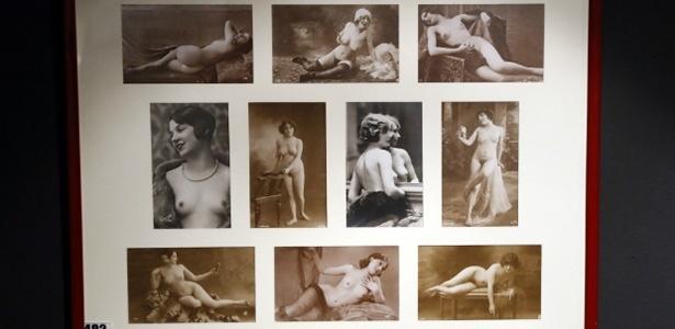 Leilão de peças, estátuas e fotografias do Museu do Erotismo de Paris faturou mais de R$ 1,5 milhão - AFP