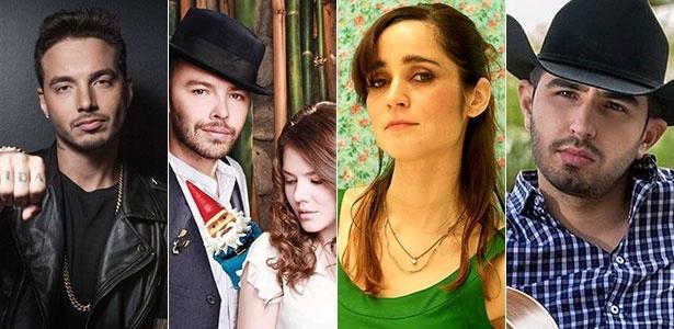 J. Balvin, Jesse & Joy, Julieta Venegas e Joss Favela concorrem ao Grammy Latino - Divulgação