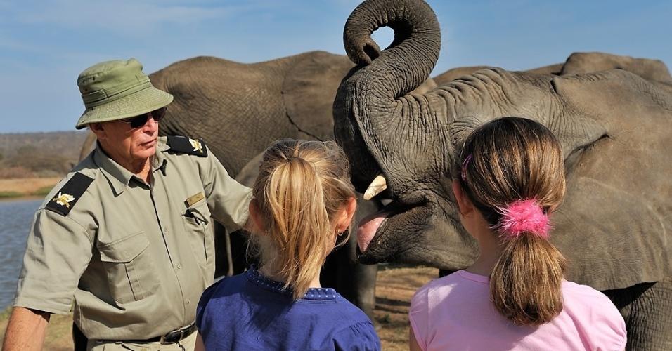 Safári Camp Jabulani, na África do Sul