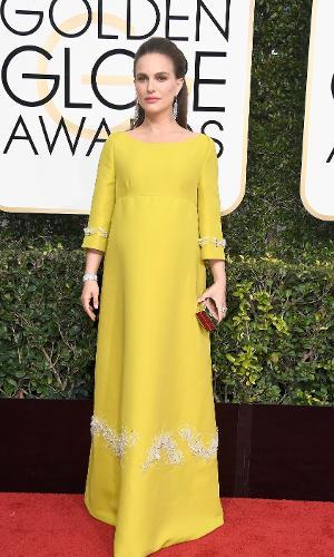Globo de Ouro 2017: Natalie Portman