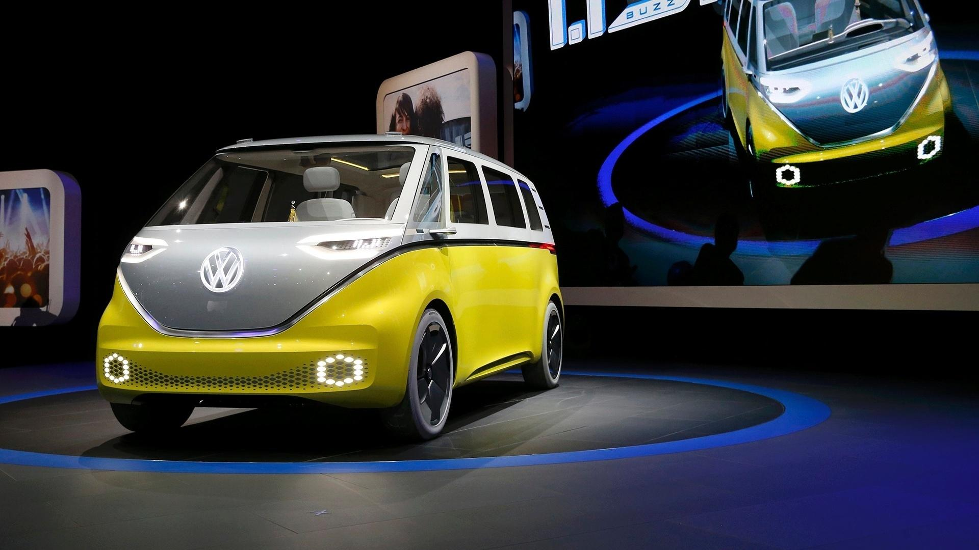 f23b76d07 Volkswagen ID Buzz Concept é a releitura do século 21 para a velha Kombi