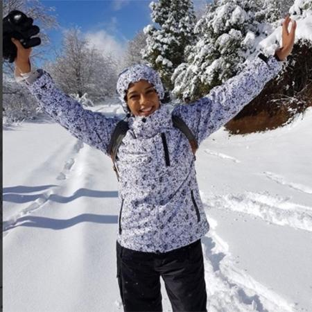 Taís Araújo curte férias na neve - Reprodução/Instagram