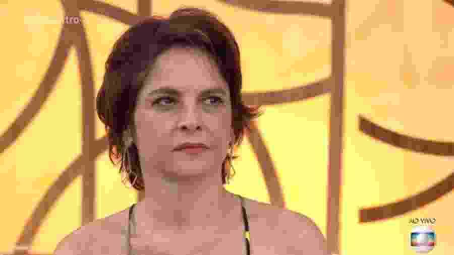 """Drica Moraes no """"Encontro com Fátima Bernardes"""" - Reprodução/Globo"""