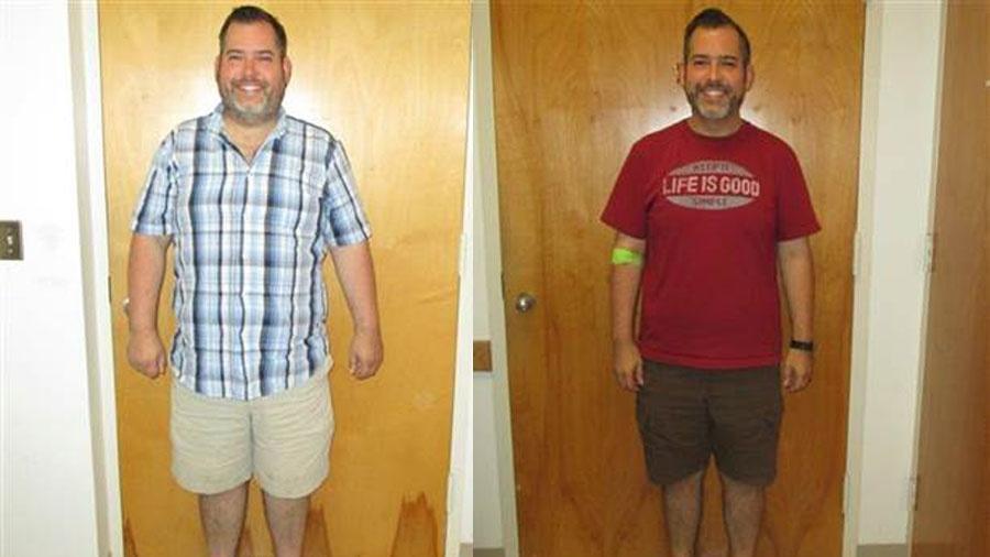 Brian Bolduc, 38, emagreceu 36 quilos para doar o fígado para sua mãe - Reprodução/Facebook