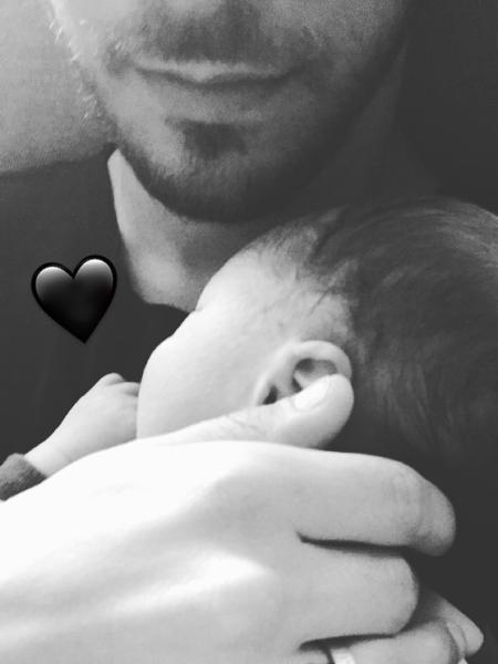 Junior Lima divulga primeira foto do filho Otto - Reprodução/ Instagram