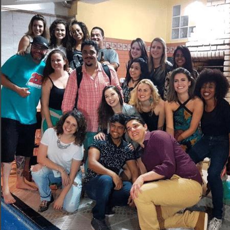 """Elenco de """"Chiquititas"""" se reencontra - Reprodução/Instagram/flaviamonteiro"""