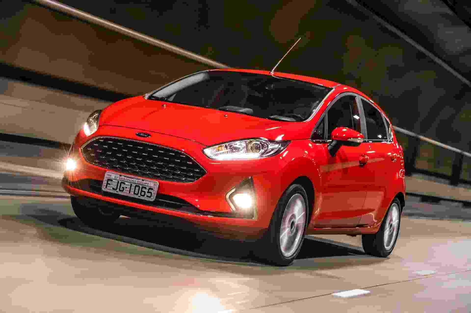 Ford Fiesta 2018 - Divulgação