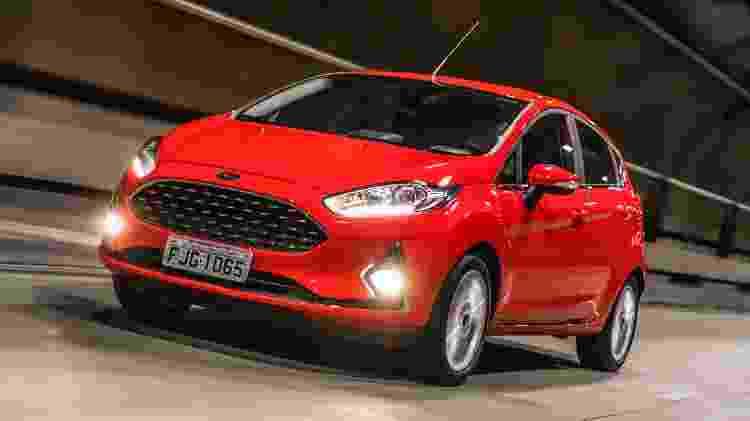 Ford Fiesta - Divulgação - Divulgação