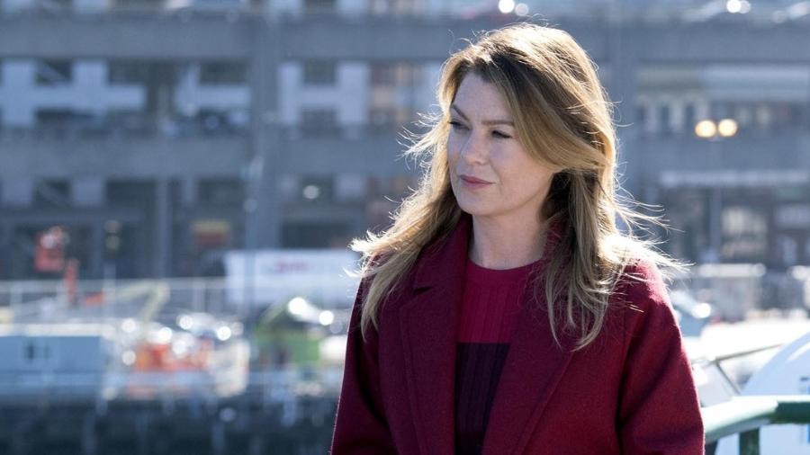 """Ellen Pompeo como a Meredith Grey de """"Grey""""s Anatomy"""" - Divulgação"""
