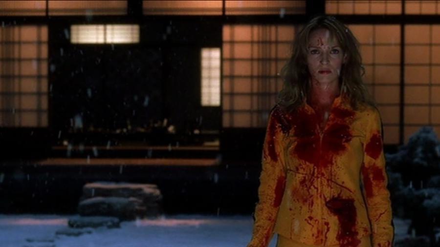 """A atriz Uma Thurman em cena do longa-metragem """"Kill Bill: Volume 1"""" - Reprodução/IMDB"""