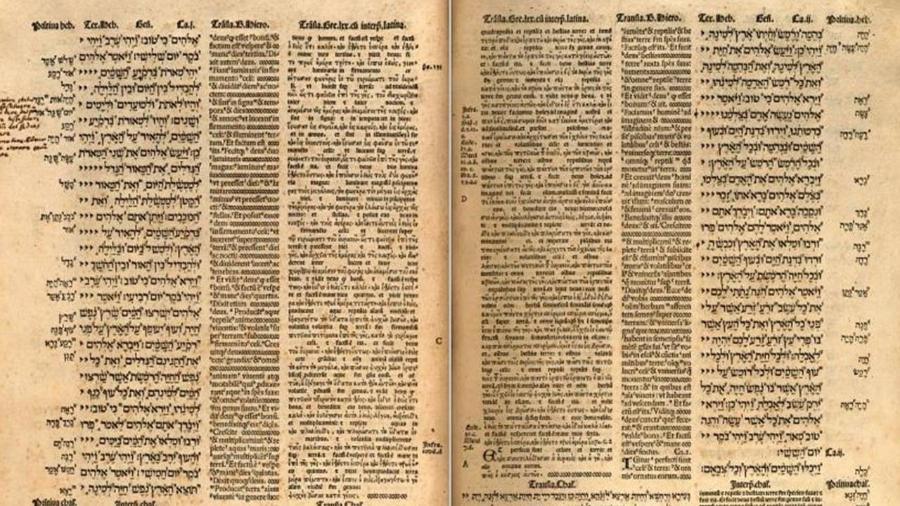 A rara Bíblia poliglota de Alcalá de Henares - Reprodução