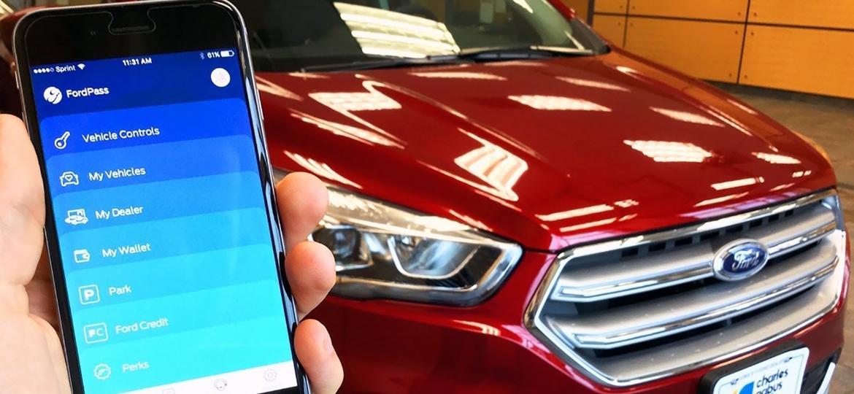 FordPass estreia com o muscle car, mas quem tem carro da Ford com a versão mais recente do Sync poderá utilizar o app em breve - Reprodução