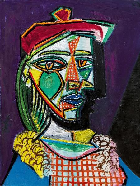 """Obra retrata Marie-Thérèse Walter - Pablo Picasso/Artists Rights Society/Sotheby""""s"""