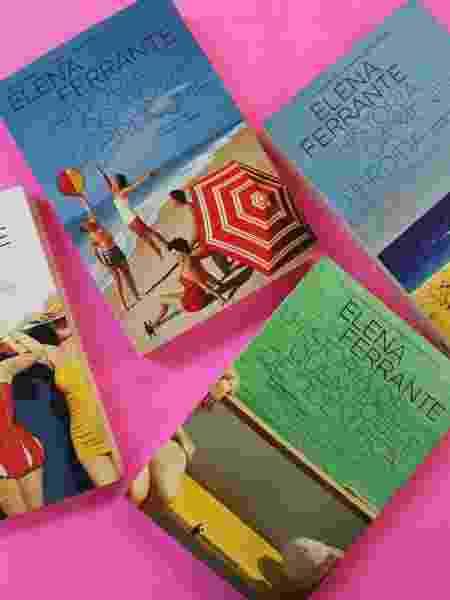 Os best-sellers da italiana desconhecida que se identifica pelo pseudônimo de Elena Ferrante ? e encantou o mundo pelo seu retrato do feminino - Divulgação