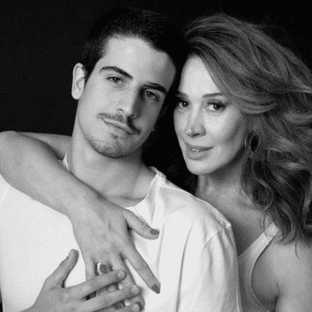 Claudia Raia com o filho, Enzo - Reprodução/Instagram