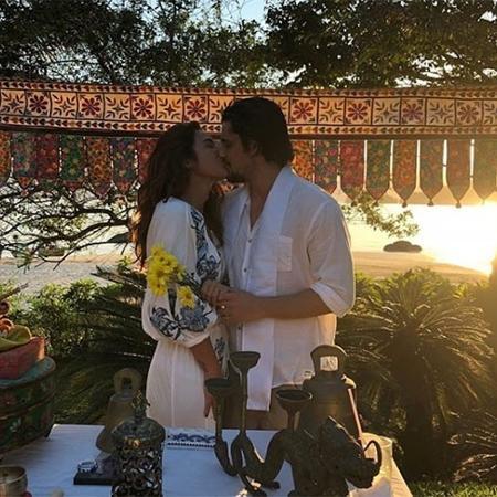 Bruno Gissoni e Yanna Lavigne se casam em festa surpresa - Reprodução/Instagram