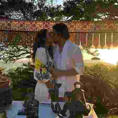 Bruno Gissoni e Yanna Lavigne se casam em festa surpresa - Reprodução/Instagram - Reprodução/Instagram