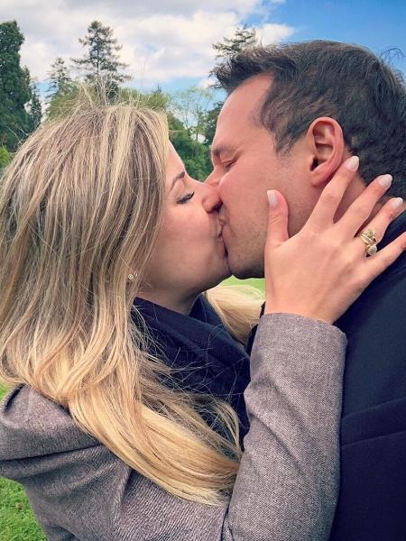 Dony De Nuccio  e a mulher, Larissa Laibida - Reprodução/Instagram
