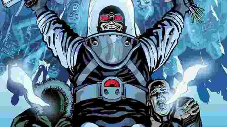 O vilão Mr. Freeze - Reprodução - Reprodução