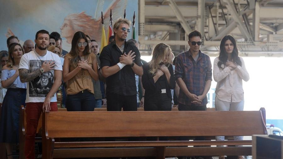 Família KLB participa da missa de 7º dia  - Francisco Cepeda/AgNews