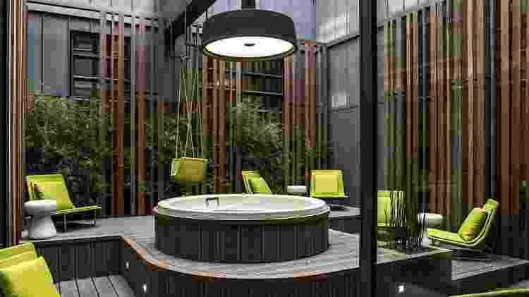 Spa do hotel Le Cinq Codet, em Paris - Divulgação/Le Cinq Codet - Divulgação/Le Cinq Codet