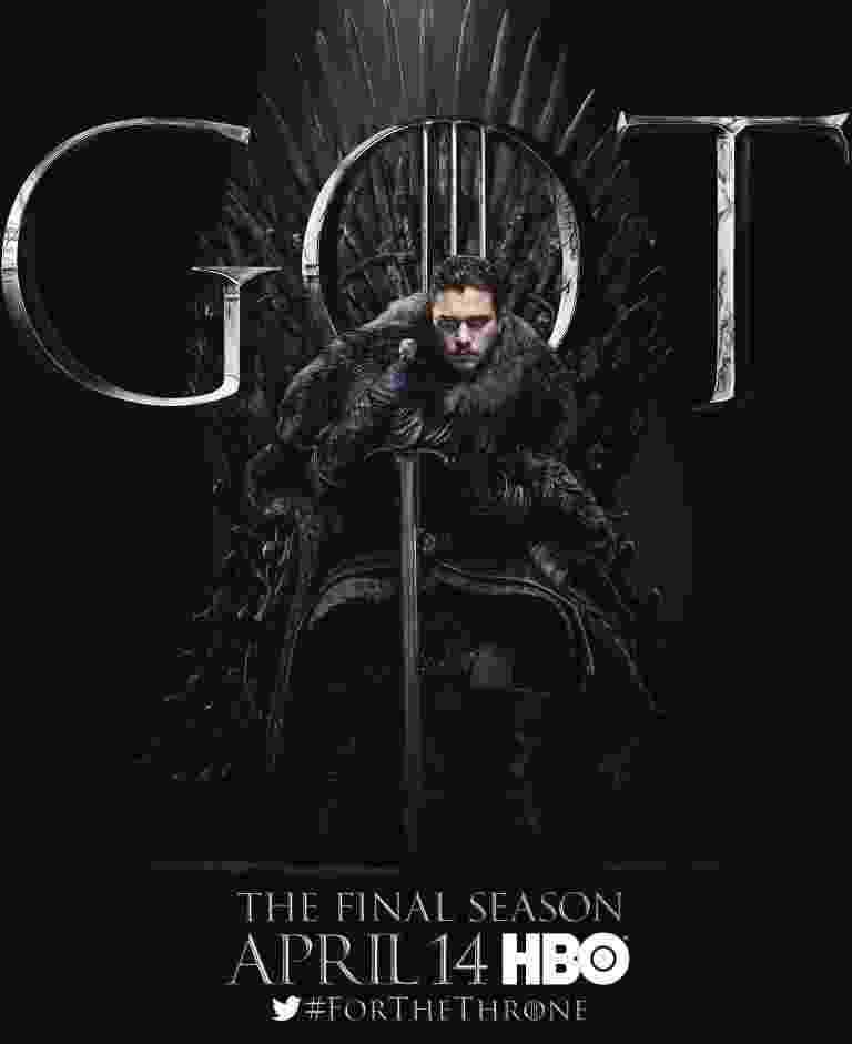 """Kit Harington como Jon Snow em """"Game of Thrones"""" - Reprodução/EW"""