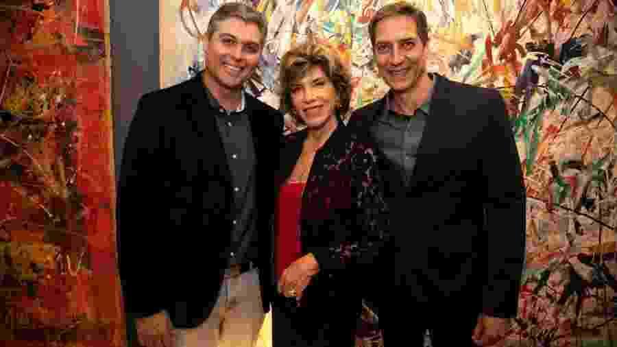 Joel Datena, Silvia Poppovic e Luiz Ernesto Lacombe continuam na espera de suas estreias na Band - Arquivo pessoal