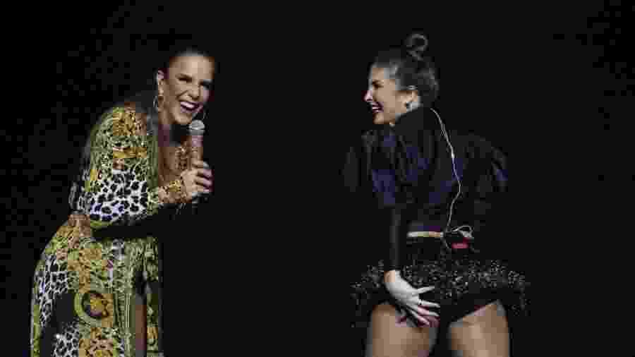 Ivete Sangalo e Claudia Leitte cantam juntas em Recife - Felipe Souto Maior/AgNews