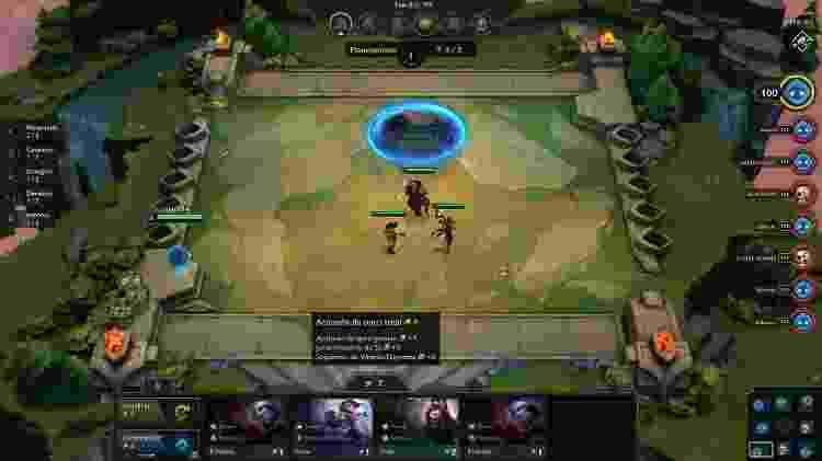 Teamfight Tactics 5 - Reprodução - Reprodução