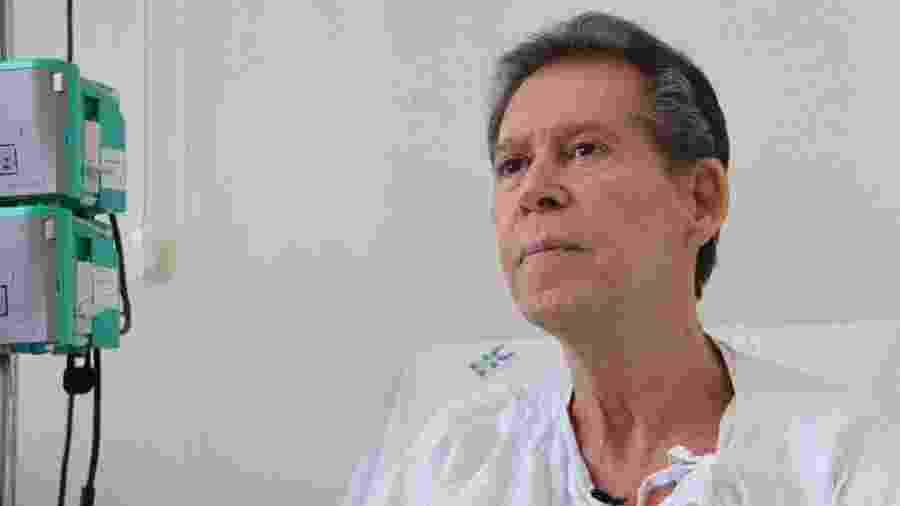 Vamberto, 62, foi desenganado por médicos, recebeu novo tratamento contra câncer e teve regressão da doença - Hugo Caldato