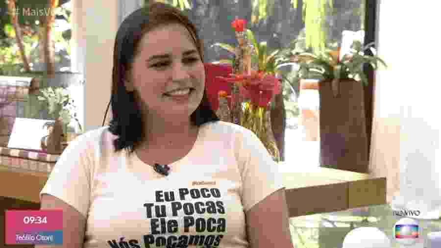Paola toma café da manhã com Ana Maria Braga no Mais Você - Reprodução/Globoplay