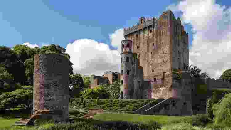 Castelo de Blarney, na Irlanda - Getty Images