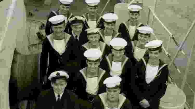 Enquanto servia a Marinha, Underhill conheceu seu primeiro amor - Stanley Underhill/Arquivo Pessoal