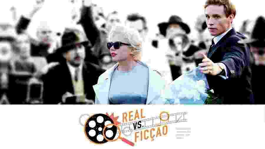 """Imagem do filme """"Sete Dias com Marilyn"""" - Divulgação/Arte UOL"""
