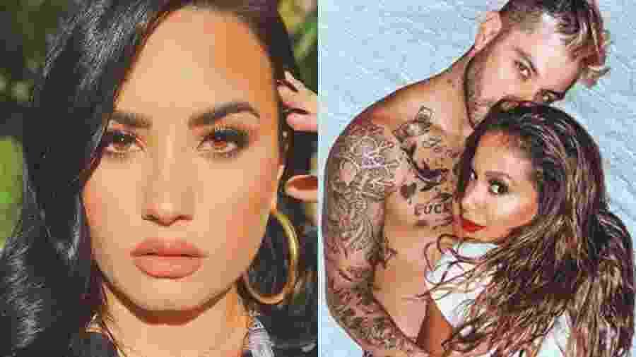 Demi Lovato comenta foto de Anitta - Reprodução/Instagram
