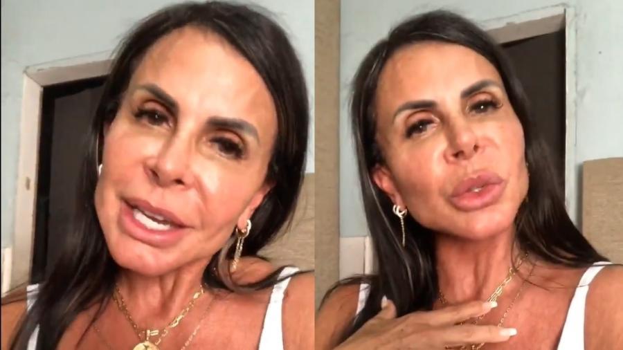 Gretchen rebate em vídeo críticas direcionadas ao filho Thammy Miranda - Reprodução/Instagram
