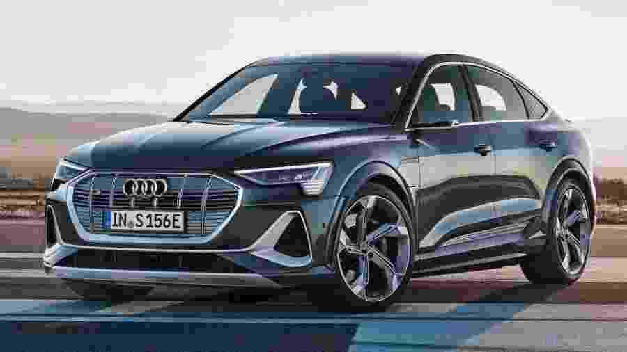 Audi e-tron Sportback S 2021 - Divulgação