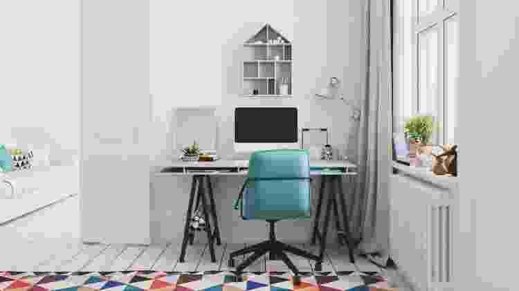 Pequena ou grande, a mesa deve ter as dimensões proporcionais para maior conforto - Getty Images - Getty Images