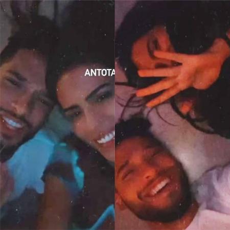 Após término, Antonia Morais curte madrugada com Bruno Fagundes  - Reprodução / Instagram