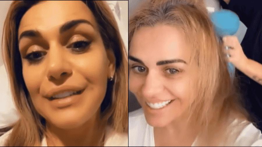 Andreia Baricelli mostra rotina no pós-operatório - Reprodução/Instagram