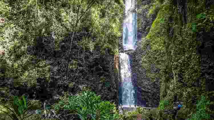 Cachoeira Cassorova: queda d'água desemboca em uma piscina natural - Divulgação - Divulgação