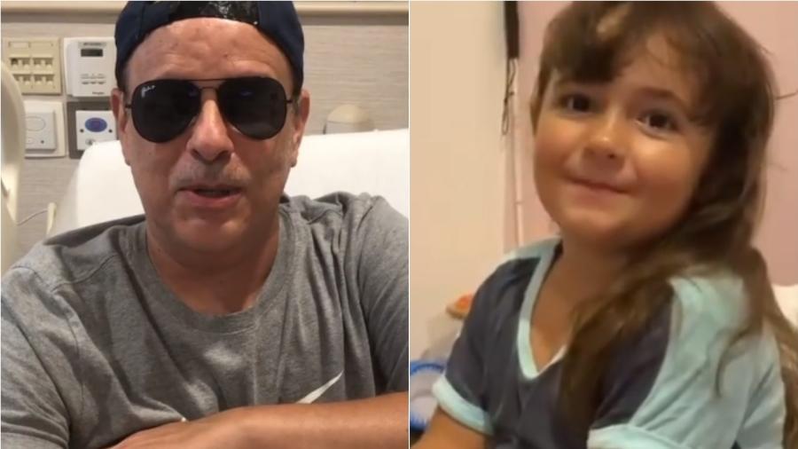Dudu Braga se emocionou com homenagem feita pela filha, Laura - Reprodução/Instagram