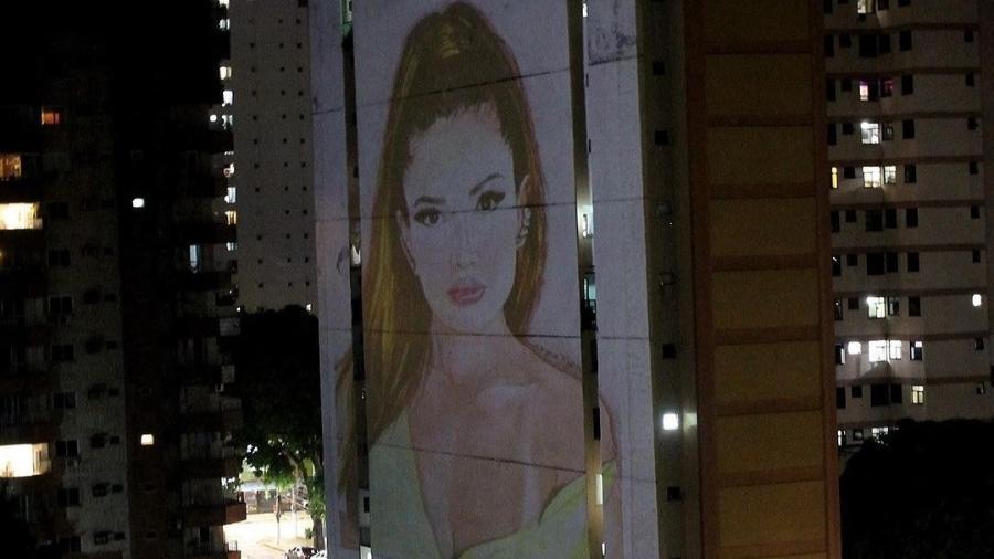 BBB 21: Juliette aparece em fachada de prédio em Belém do Pará - Reprodução/Instagram