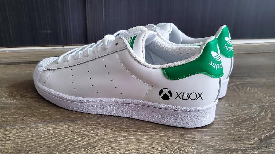 Tênis da Adidas em parceria com Xbox já foi feito em 2020 - Reprodução/YouTube