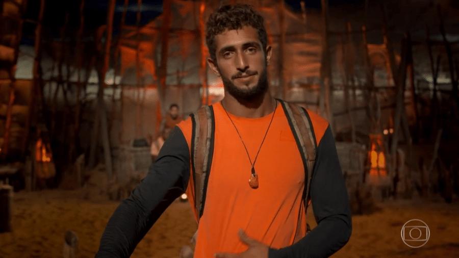No Limite: Lucas Chumbo é o quarto eliminado do reality - Reprodução/Globoplay