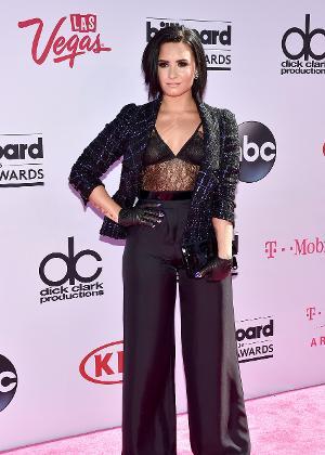 A cantora Demi Lovato - Getty Images