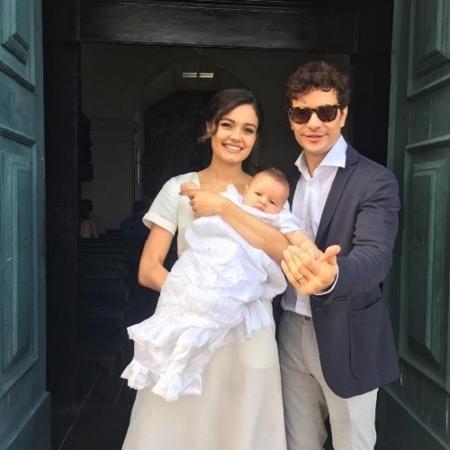 Sophie Charlotte e Daniel de Oliveira posam com o filho, Otto - Reprodução/Instagram/sophiecharlotte1