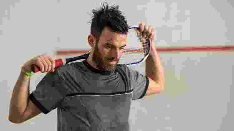 Squash, raquete - iStock - iStock